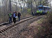 Rekonstrukce na místě tragické nehody tramvají ve Vřesině