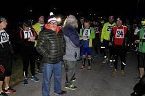 Noční maraton v Ostravě-Porubě.