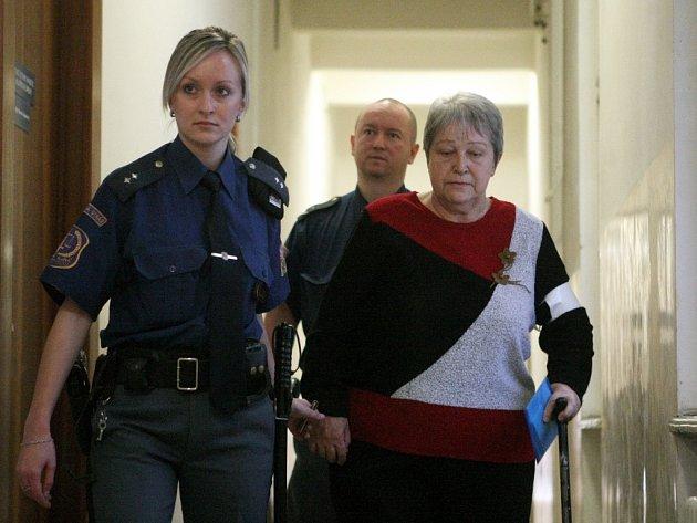 Danuše Špičková před soudem prohlásila, že svého manžela milovala a nikdy by mu vědomě neublížila.