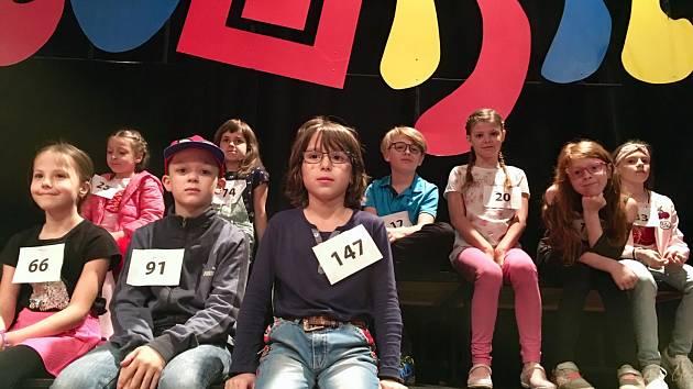 Čekání na druhé kolo... Ostravské studio vybíralo děti pro Déčko