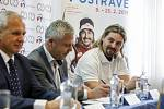 Na snímku vpravo David Moravec, olympijský vítěz Olympijský vítěz z Nagana a dvojnásobný mistr světa.