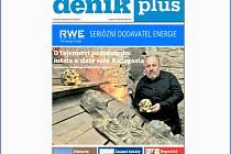 Titulní strana nové pravidelné přílohy Deník plus.