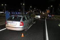 Policisté hledají řidiče, který utekl z místa nehody.