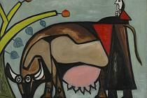 Vrámci výročí 95 let Domu umění připravila Galerie výtvarného umění v Ostravě výstavu obrazů, kreseb a grafik šestnácti španělských umělců, kteří zakotvili vPaříži.