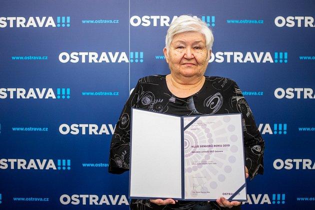 Sdružení seniorů Odborového sdružení železničářů Ostrava.