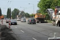 Rekonstrukce Muglinovské ulice v Ostravě potrvá do konce června.