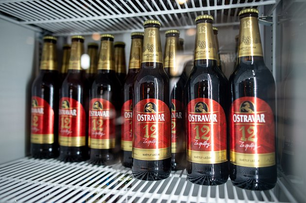 Pivní pohotovost Ostravar.