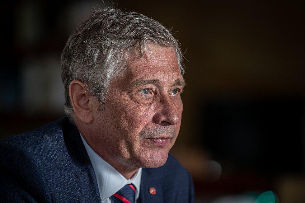 Politik Ivo Vondrák poskytl Deníku rozhovor, 14. srpna 2020 v Ostravě.