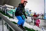 Olympijský festival v Ostravě, neděle 11. února 2018, disciplína skokanský můstek