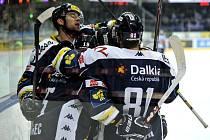 Radost Vítkovic. Čtvrtfinále play off hokejové extraligy – 2. zápas:  HC Sparta Praha – HC Vítkovice Steel 0:1