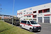 Vojáci pomáhají také zdravotníkům v MS kraji.