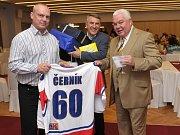 Legenda českého hokeje, František Černík,  v ostravském hotelu Clarion oslavil šedesátiny.
