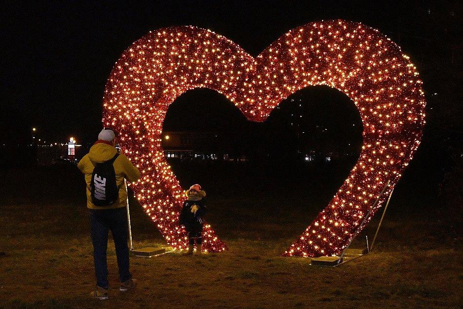 Valentýnské srdce i strom mají v obvodu Ostrava-Jih nebývalý úspěch již týden před samotným svátkem.