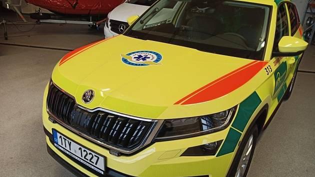 Nov vozy pro záchranáře.