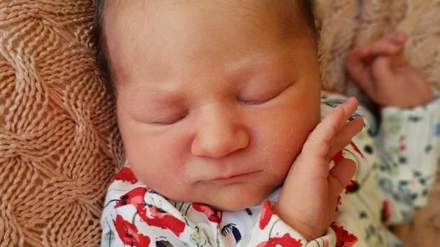 Malvína Hendrych, Opava, narozena 7. července 2021 v Opavě, míra 49 cm, váha 3430 g. Foto: Lucie Dlabolová, Andrea Šustková