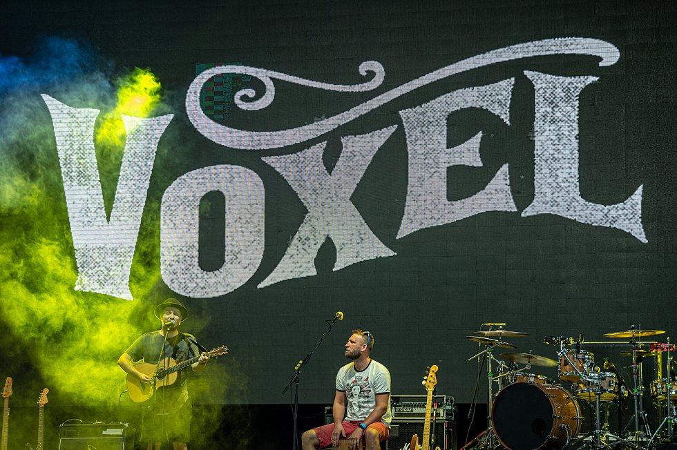 Vystoupení Voxel na komorní hudební festivalu NeFestival, 15. července 2020 v Ostravě.