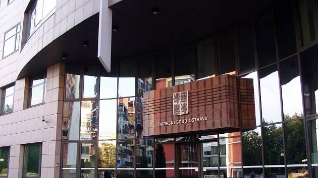 Okresní soud v Ostravě. Ilustrační foto.