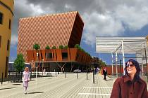 Tak by měl v budoucnu vypadat prostor mezi Svinovskými mosty a nádražím.