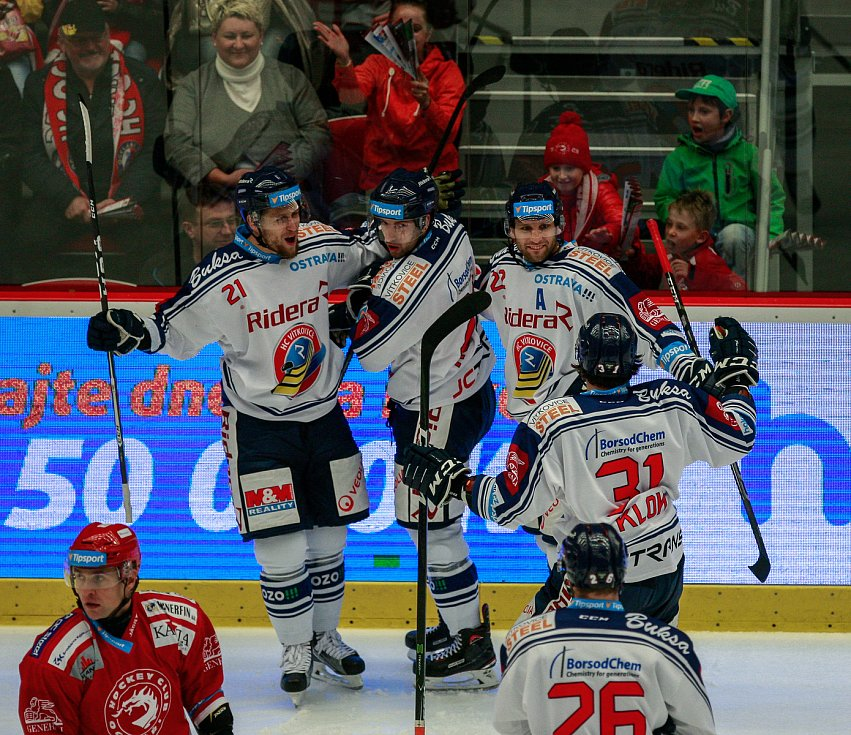 radost, gól, zleva Radoslav Tybor, Ondřej Roman, Karol Sloboda, Lukáš Klok