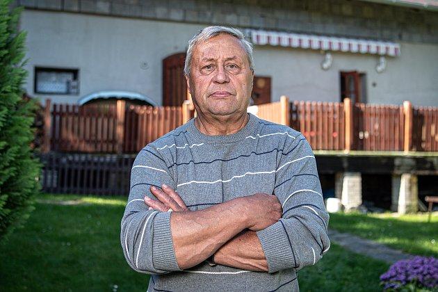 Bývalý český fotbalista Lubomír Knapp, 6.října 2020vKlokočově.
