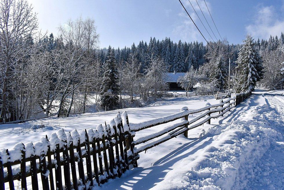 Petr Parák se vydal na výlet po zasněžených Beskydech.