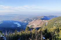 Beskydy, cesta na Lysou horu, 2. ledna 2020.