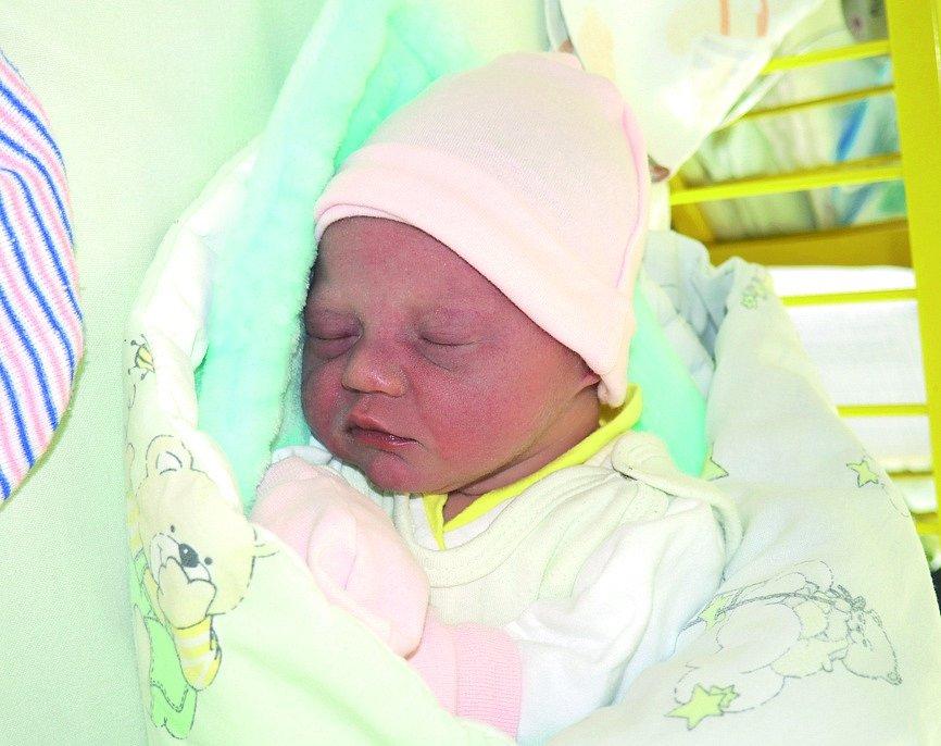 Eliška Budínská, narozena 19. 8. 2020, váha 2580 g, Dubina. Fakultní nemocnice Ostrava.