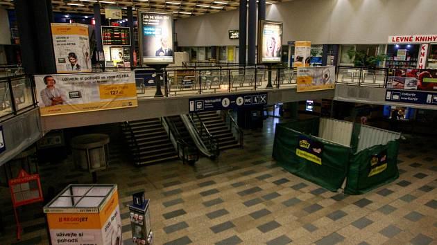 Hlavní nádraží v Ostravě.