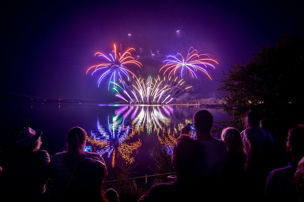 Festival ohňostrojů v Hlučíně, 31. srpna 2019.