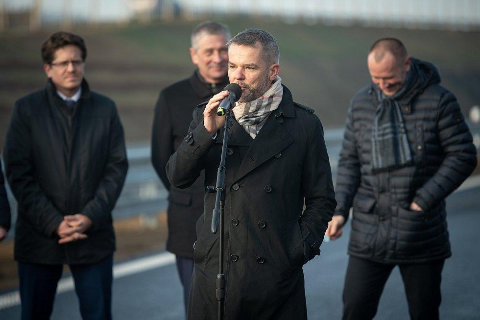 Otevření Prodloužené Rudné v Ostravě, 19. prosince 2019.