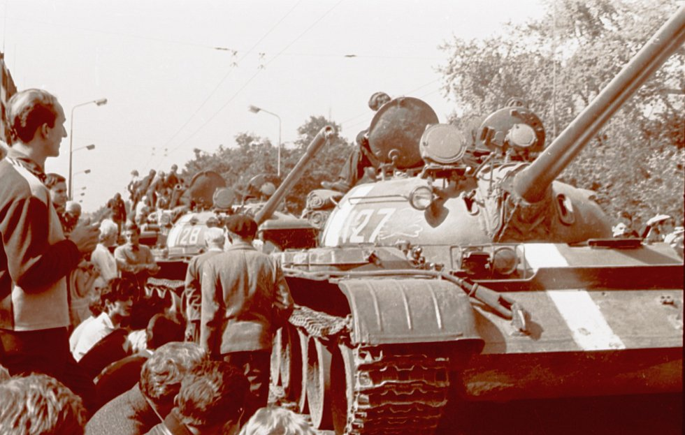 Srpen 1968 na severní Moravě a ve Slezsku: demonstrace, zaťaté pěsti a nadávky