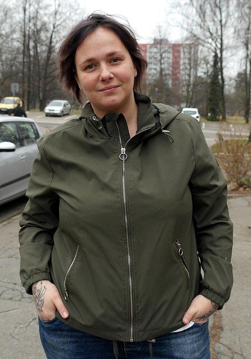 """Tereza z ostravského sídliště Poruba je """"proslavená"""" docela dramatickým zatčením."""