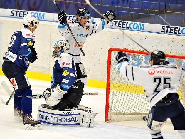 HC Vítkovice Steel - HC Škoda Plzeň.