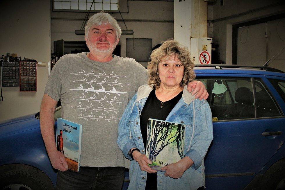 Manželé Ilona a Libor Hromádkovi