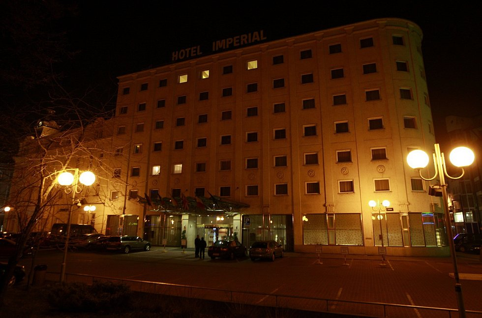Hotel Imperial Ostrava. Ilustrační foto.