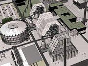 Knižní kostku ve středu 23. září postavili lidé na Masarykově náměstí v centru Ostravy.