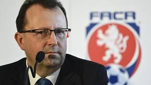 Předseda Fotbalové asociace ČR (FAČR) Martin Malík.