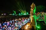 Hudební festival Colours of Ostrava 2019 v Dolní oblasti Vítkovice, 20. července 2019 v Ostravě. Na snímku The Cure.