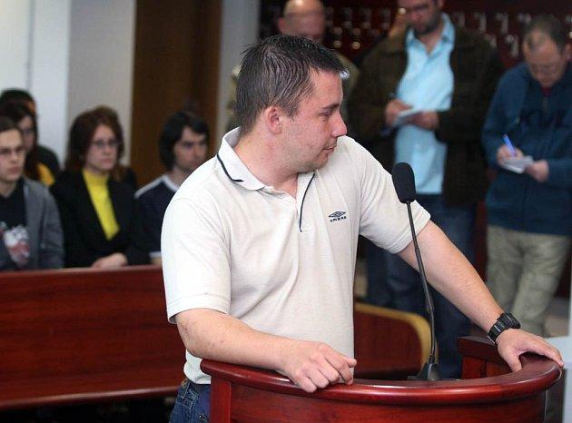 Michal Mayer u ostravského okresního soudu