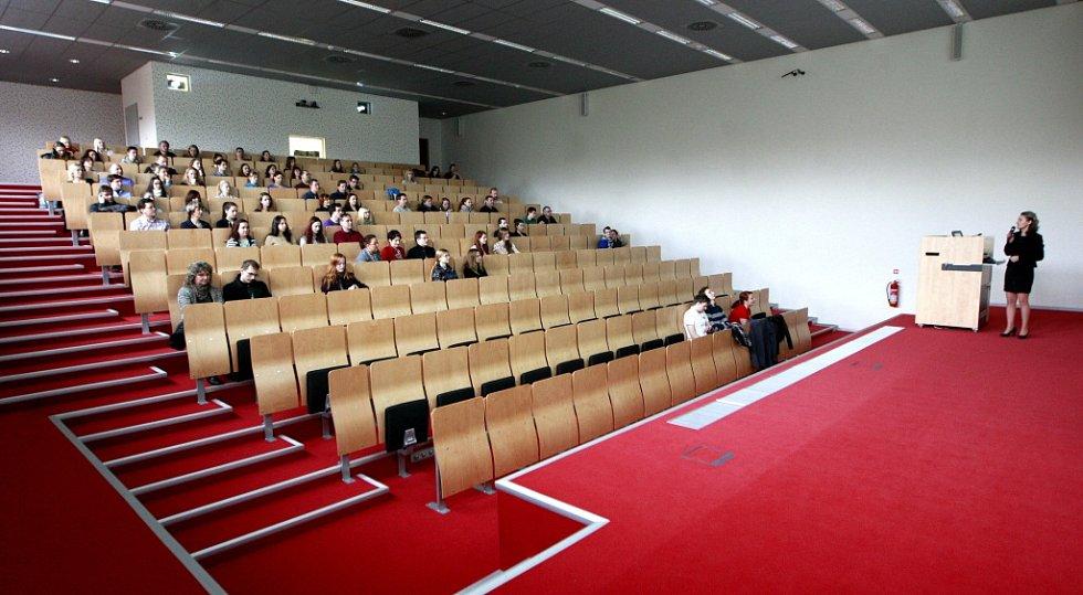 Dny otevřených dveří na Lékařské fakultě Ostravské Univerzity.