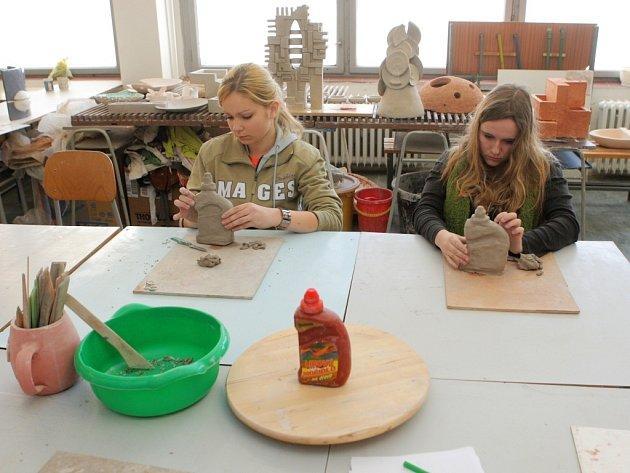 Na Soukromé střední umělecké škole AveArt v Ostravě-Hrabůvce museli adepti na přijetí  absolvovat kresbu hlavy, kresbu zátiší a vymodelovat zadaný objekt.