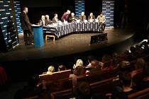 Snímek z lednové debaty v ostravském Divadle loutek na téma oživení centra Ostravy.