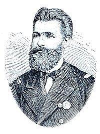 Rakouský důstojník a polárník Eduard Orel.