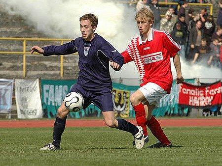 Havířovští fotbalisté se v Porubě mohli cítit jako doma.
