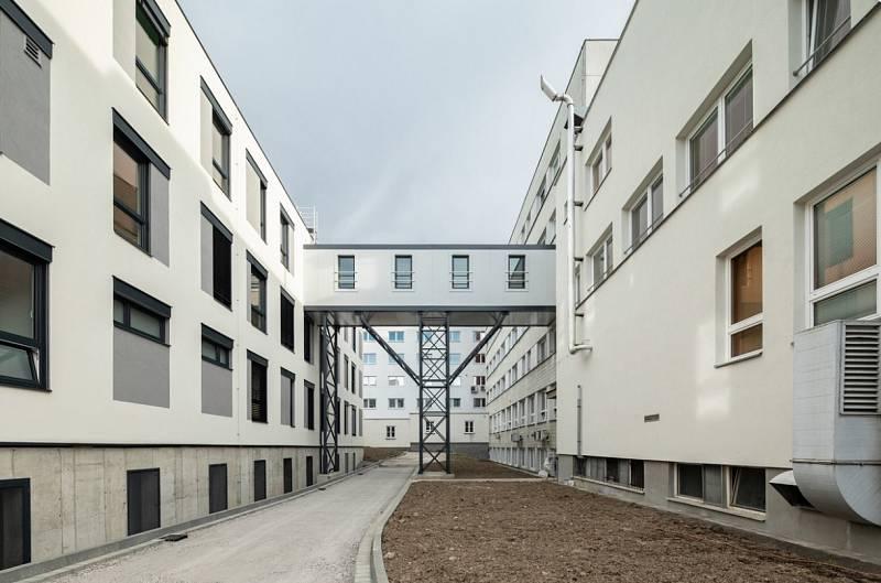 Přístavba Karvinské hornické nemocnice.