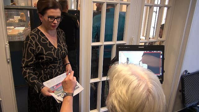 Dana Morávková v Ostravě natáčela komedii Ženská pomsta.