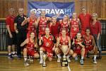 Basketbalový turnaj žen Memoriál Jiřího Jurdy: PINKK Pécsi 424 - Sokol Hradec Králové, 8. září 2019 v Ostravě.