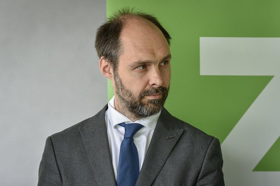 Do podzimních krajských voleb vstoupí nová koalice STAN, Zelení a Nezávislí. Na snímku Ondřej Syrovátka (Zelení).