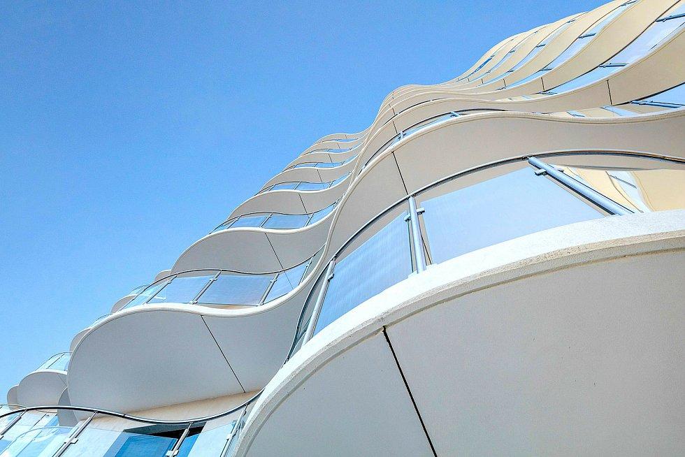 Sky Barrandov Praha. Vizualizace: AI Design