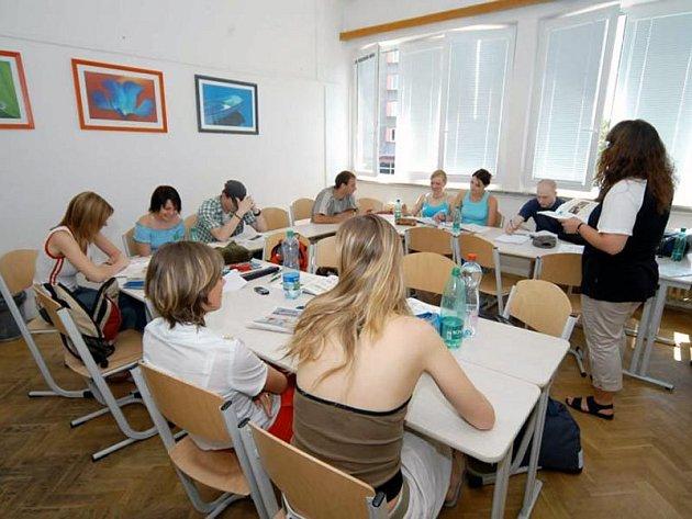 Ilustrační foto z jazykového kurzu
